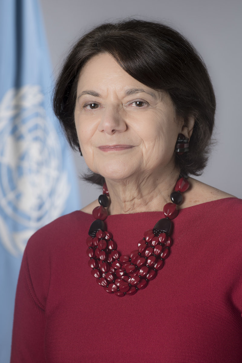Portrait of Under-Secretary-General for Political Affairs, Rosemary A. DiCarlo