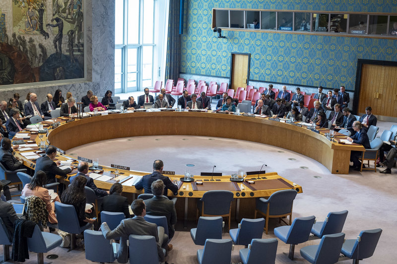 Security Council Briefing on the Situation in Syria