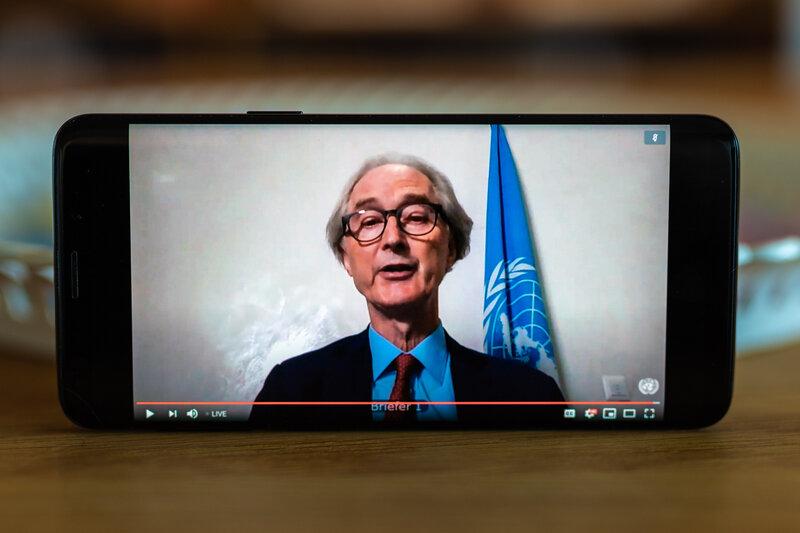 Special Envoy Geir O. Pedersen. Photo: UN Photo/Eivind Oskarson